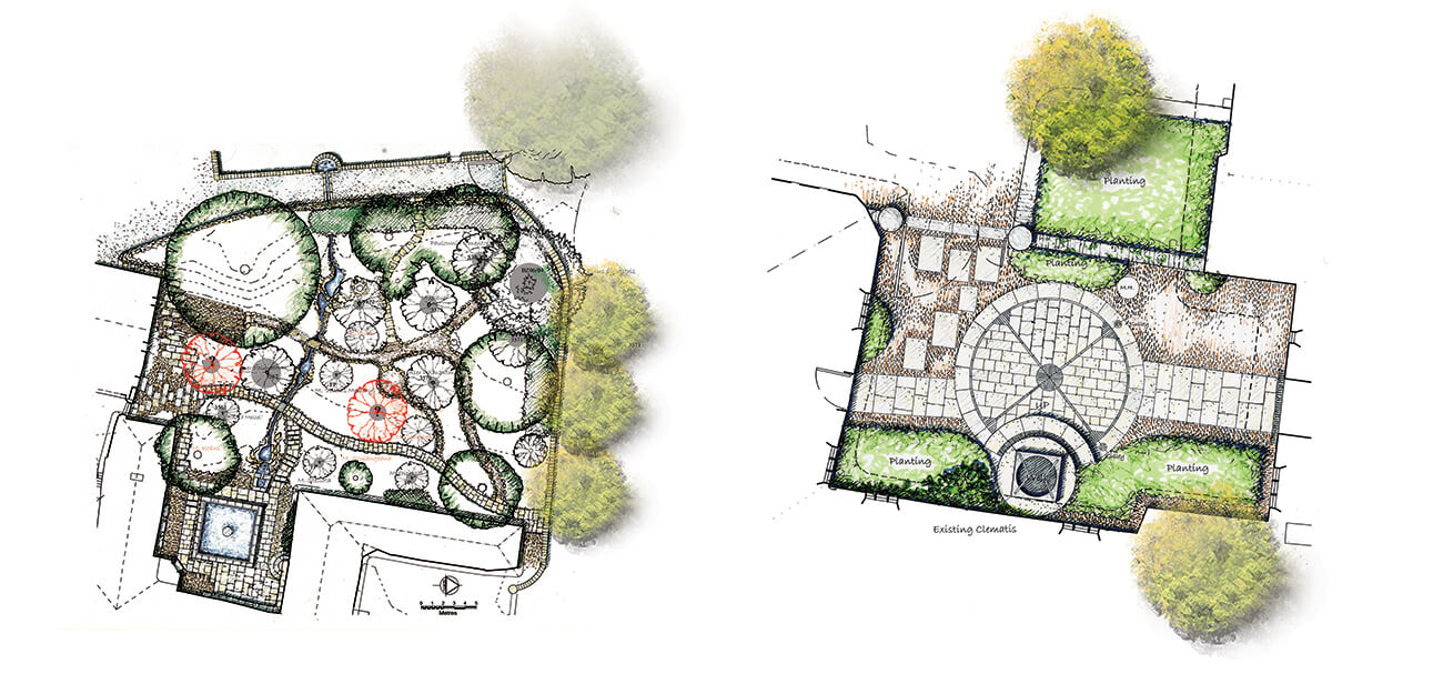 Detailed plans for the Listed Manor House, Honiton, Devon